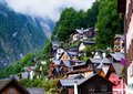 Hallstatt in Austria Royalty Free Stock Images
