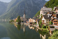 Hallstatt, the most beautiful lake town Stock Images