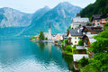 Hallstatt view (Austria) Royalty Free Stock Image