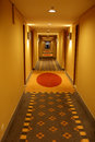Hallway in hotel Stock Photography