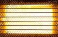 Halogen heater Royalty Free Stock Photo