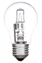 Halogen light bulb Royalty Free Stock Photo