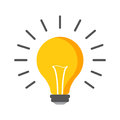 Halogen lightbulb icon. Light bulb sign. Electricity and idea sy