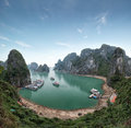 Halong Bay Vietnam. Ha Long Bay view Royalty Free Stock Photo