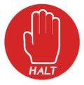Halt icon creative design of Royalty Free Stock Image