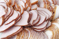 Ham meat bacon background Royalty Free Stock Photography