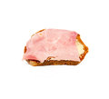 Ham sandwich to full size format Stock Photography