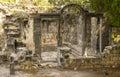 Hamat gader hot springs ruins of the roman spring at Royalty Free Stock Photo