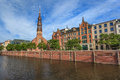 Hamburg city skyline - Germany