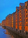 Hamburg City, Speicherstadt Royalty Free Stock Photography
