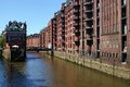 Hamburg hanseatic city of in the summer Royalty Free Stock Photo