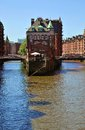 Hamburg hanseatic city of in the summer Stock Photos