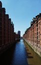 Hamburg hanseatic city of in the summer Stock Photography