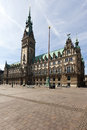 Hamburg Town Hall Royalty Free Stock Image
