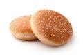 The hamburger buns Royalty Free Stock Photo