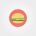 Hamburger icon vector illustration