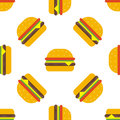 Hamburger seamless