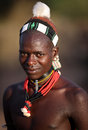 Hamer warrior in South Omo, Ethiopia.