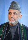 Hamid Karzai Royalty Free Stock Images