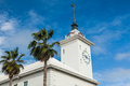 Hamilton bermuda city hall view of the building of the capital of Royalty Free Stock Photography