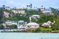 Hamilton Bermuda View Royalty Free Stock Photo