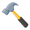 Hammer isolated illustration on white background Stock Photos