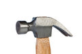 Hammer with nail puller. Stock Photos