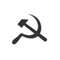 Hammer and Sickle communist symbol