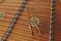 Hammered Dulcimer Close Up Acoustic Music Royalty Free Stock Photo