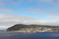 Hammerfest town Stock Photography