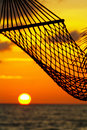 Hammock and sun Stock Photography