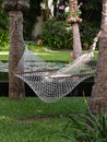 Hammock in thailand shadow zone Royalty Free Stock Image