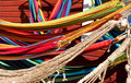 Hammocks on a market, Finland Royalty Free Stock Photo