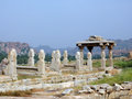 Hampi ancient ruins Royalty Free Stock Photos