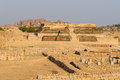 Hampi indian ancient architecture in hamp Stock Images
