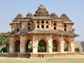 Hampi ruins lotus mahal at the zenana enclosure in south india Stock Photos