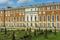 Hampton court england the palace of near london in Stock Images