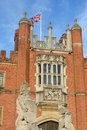 Hampton Court Palace in Portrait Royalty Free Stock Photo