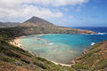Hanauma Bay, Hawaii Royalty Free Stock Photo