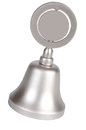 Hand bell isolated on a white background Royalty Free Stock Image