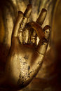 Hand of Buddha. Royalty Free Stock Photo