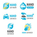 Hand car wash logo