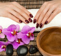 Hand care and manicure Royalty Free Stock Photo