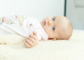 Hand closeup of a tiny baby Royalty Free Stock Photo