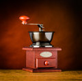 Hand Coffee Grinder Royalty Free Stock Photo