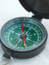 Hand compass Stock Photography