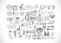 Hand doodle business doodles an images of Royalty Free Stock Photo