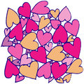 Hand drawn abstract heart this is file of eps format Stock Images