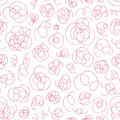 Hand drawn abstract pattern. Vector seamless background.