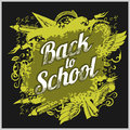 Hand-drawn back to school sketchy Royalty Free Stock Photo
